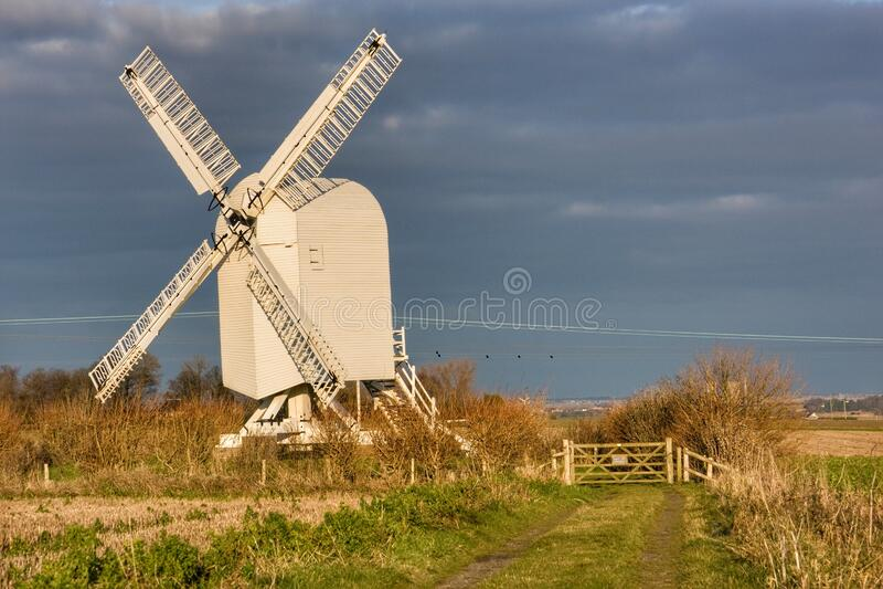 Windmill Kent fotografia de stock