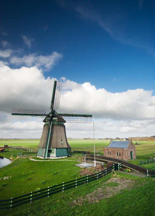 Download Windmill landscape stock photo. Image of farm, house, grass - 4648558