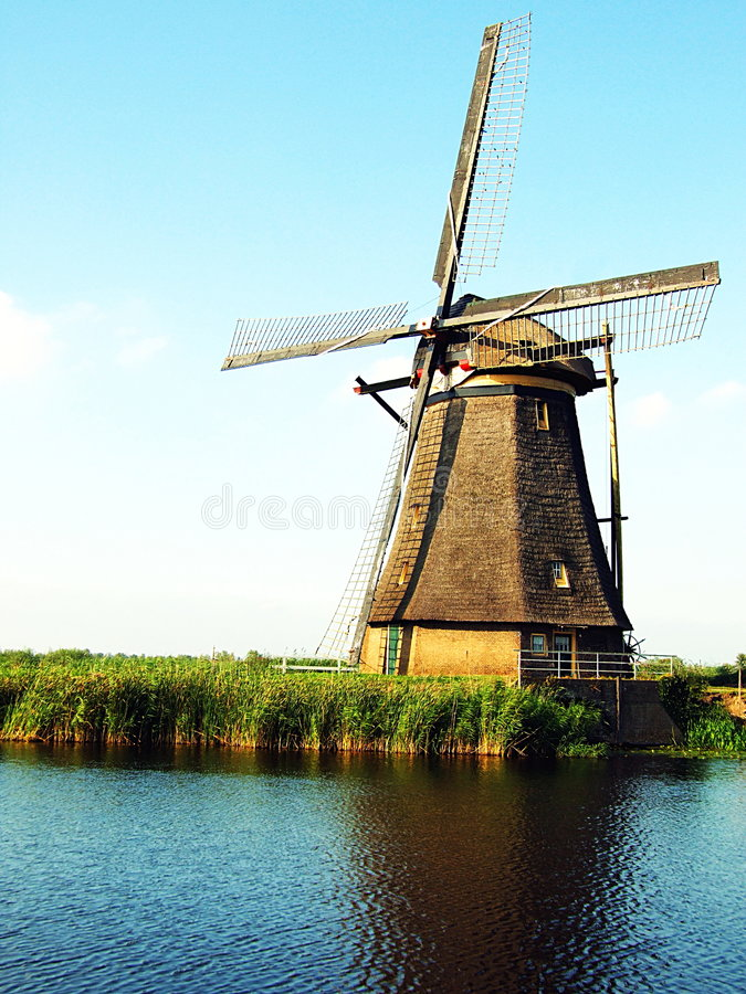 Windmill - the Netherlands royalty free stock photography
