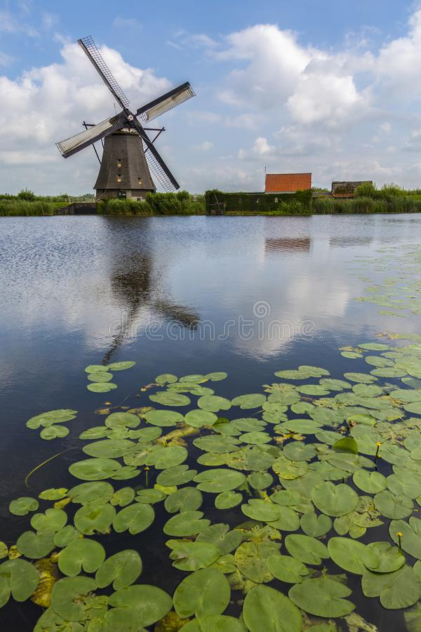 Windmill - Netherlands stock images