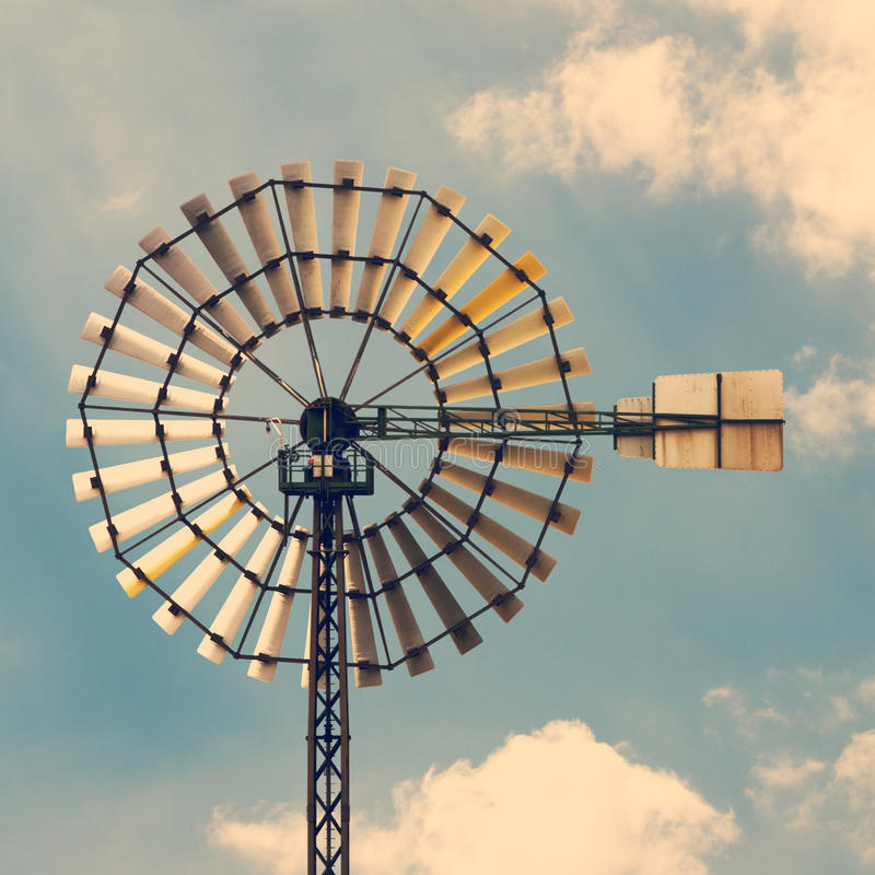 Download Windmill stock image. Image of photography, cloud, alternative - 31950491
