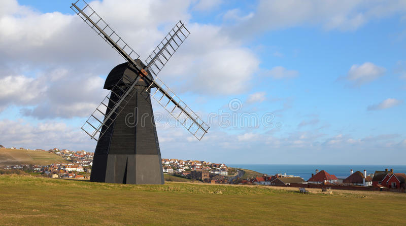 Windmill old mill town england