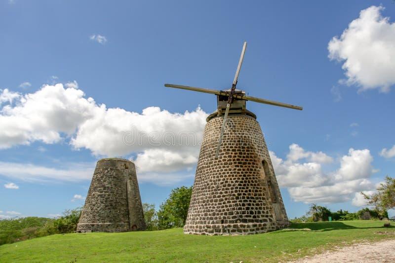 Windmill stock image