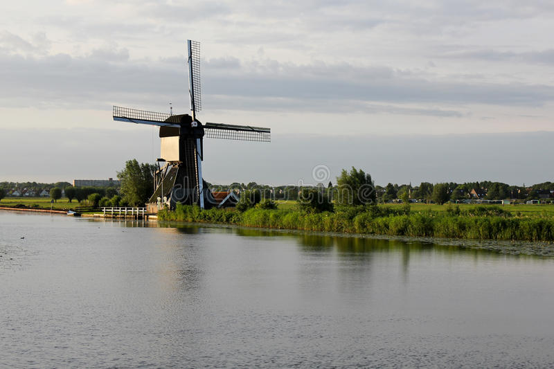 Windmill At Sunrise Royalty Free Stock Image