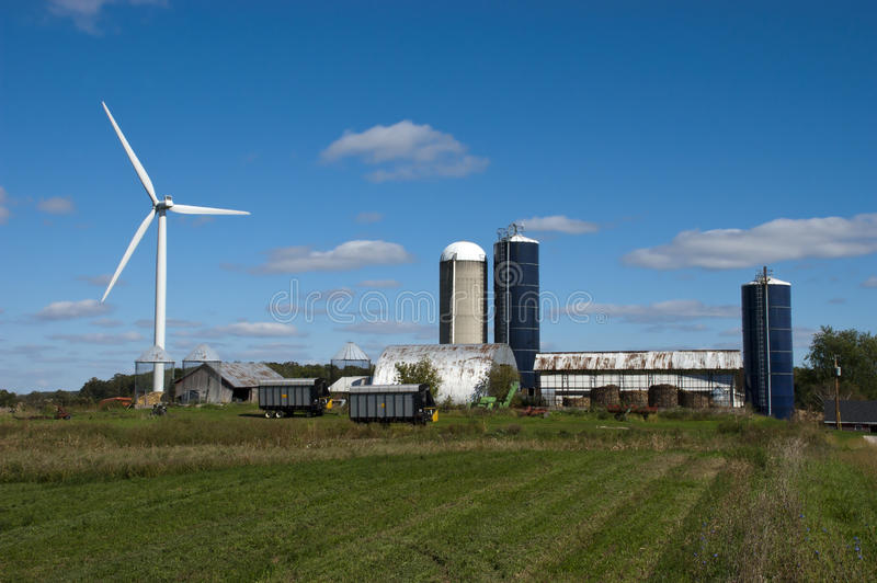 Download Windmill Turbine Wind Green Energy By Farm Royalty Free Stock Photo - Image: 17075395