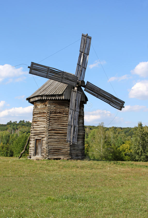 Download Windmill in the village stock photo. Image of agriculture - 16224368