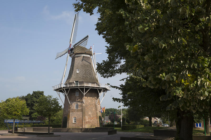 Download Windmill Netherlands, Province Drenthe Stock Photo - Image of antique, dutch: 83708672