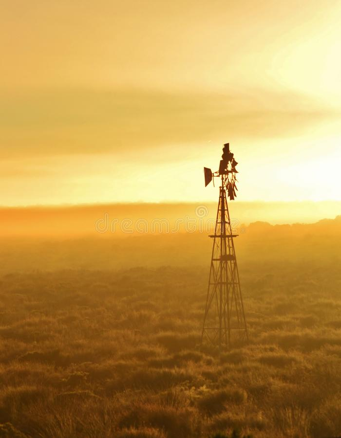 Download Windmill water pump stock photo. Image of meadow, scrubs - 26496222