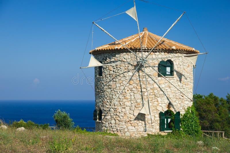 Windmill of Zante. royalty free stock image