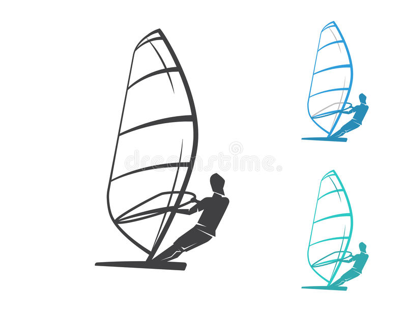 windmilling иллюстрация вектора