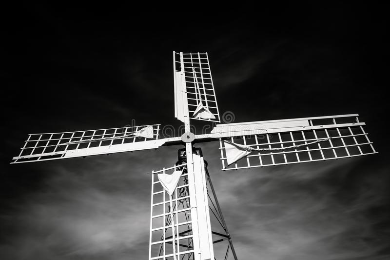 Windmilll fotografie stock