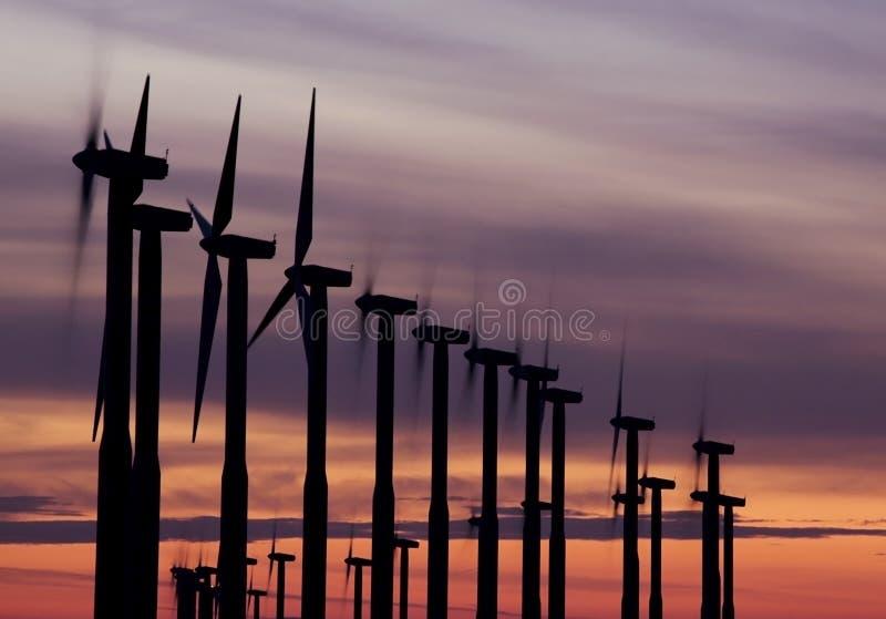 Windmills 1 stock photo