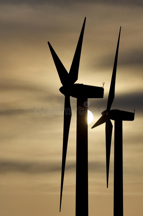 Download Windmills stock image. Image of environmental, production - 16742049