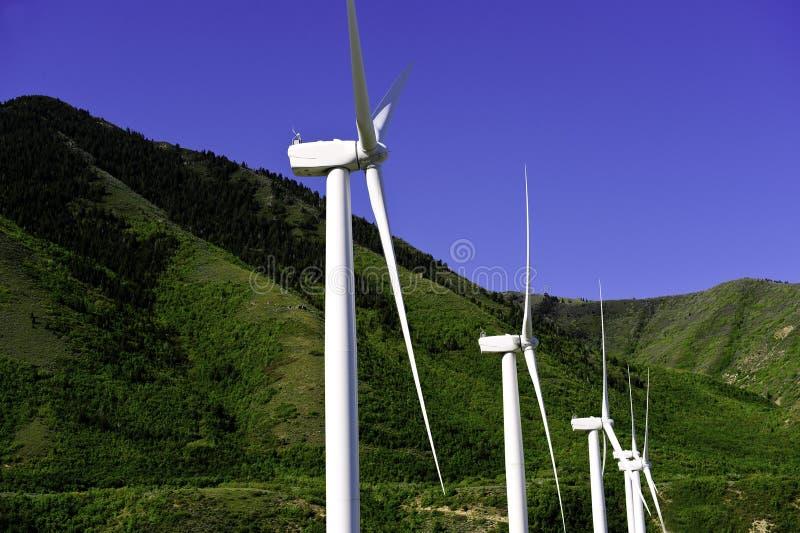 Windmills royalty free stock image