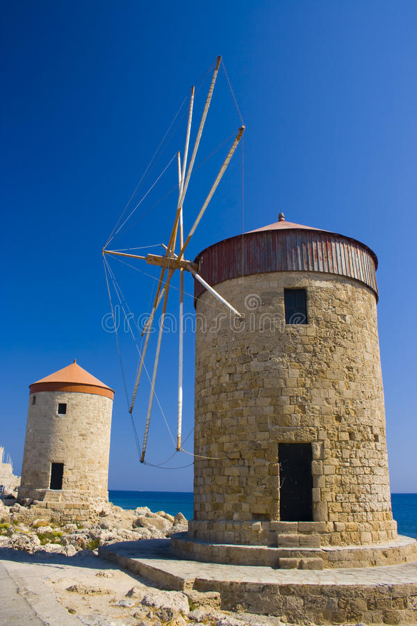 Download Windmills stock photo. Image of fantastic, europe, island - 21344416