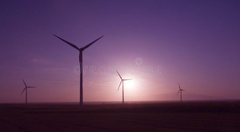 Windmills royalty free stock images