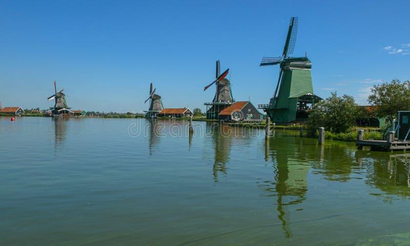 Download Windmills stock image. Image of netherlands, holland - 27401863