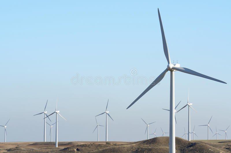 Download Windmills stock image. Image of generation, effect, generator - 28161645