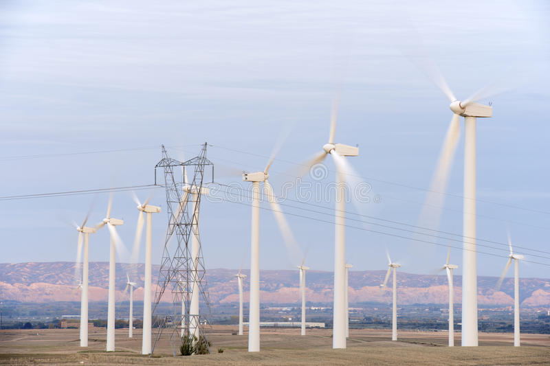 Download Windmills stock photo. Image of ecological, group, landscape - 28679678