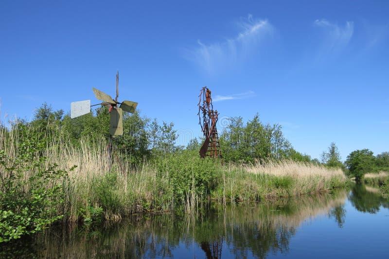 windmills photo libre de droits