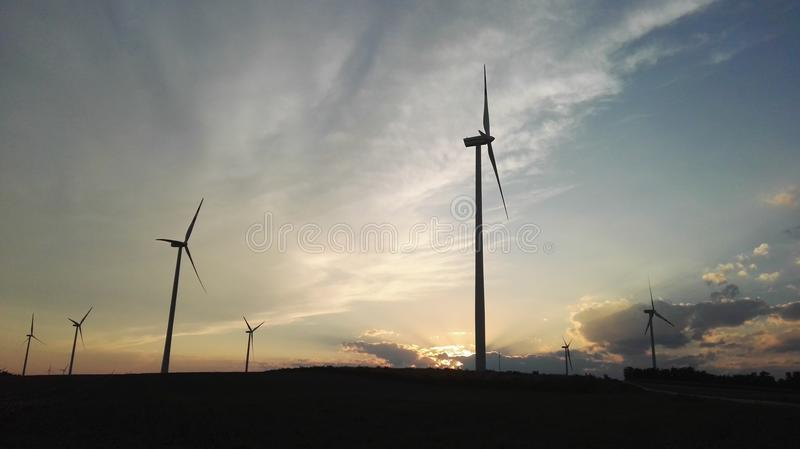 windmills foto de stock royalty free