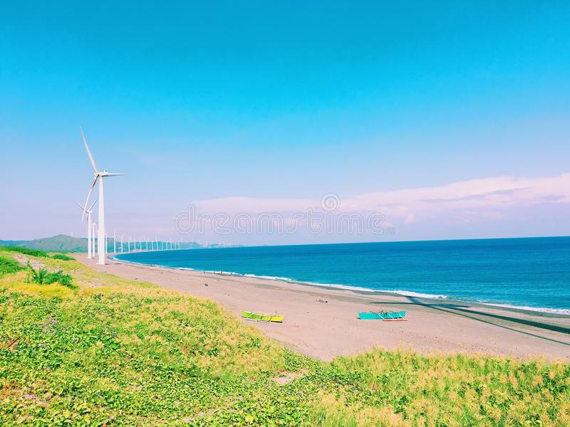 windmills fotografía de archivo