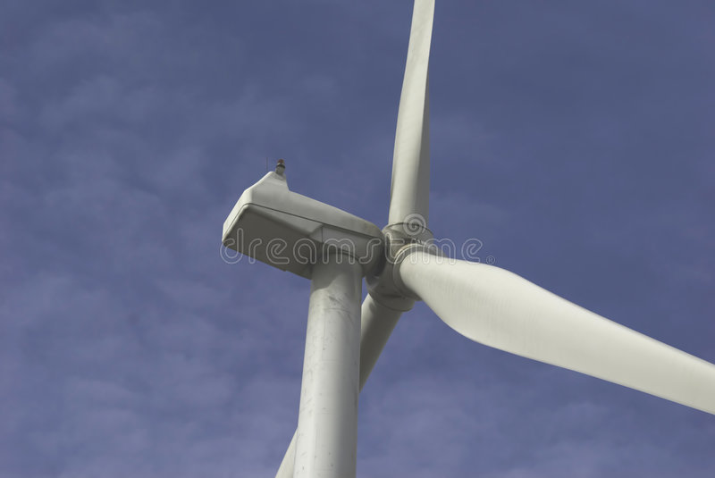 Windmills with Blue Sky royalty free stock photo