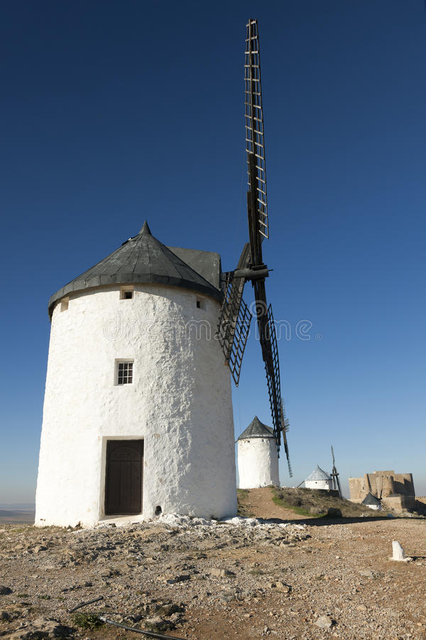 Download Windmills in Consuegra stock image. Image of touristic - 17908649