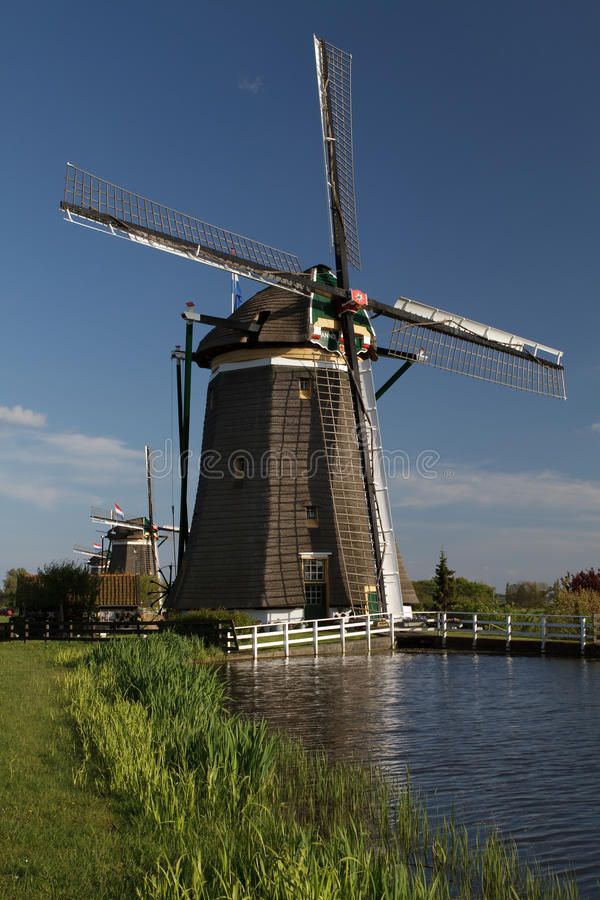 Download Windmills On Dutch Countryside Stock Photo - Image: 14859640