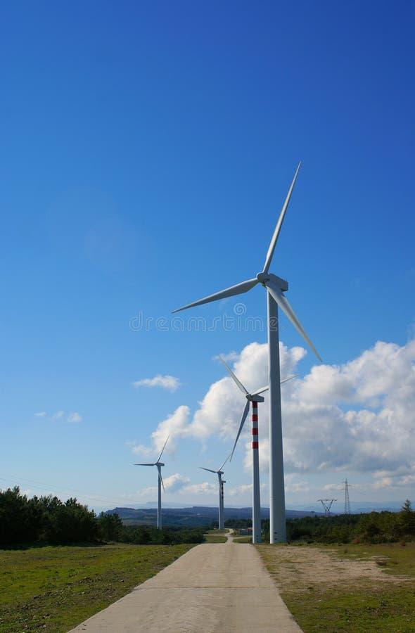 Windmills, Eolic. stock images