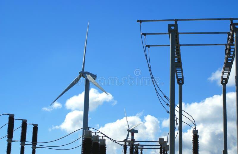 Windmills, Eolic. stock photography