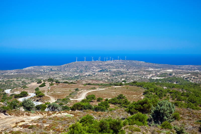 Download Windmills, Kos Island Stock Photos - Image: 21261223