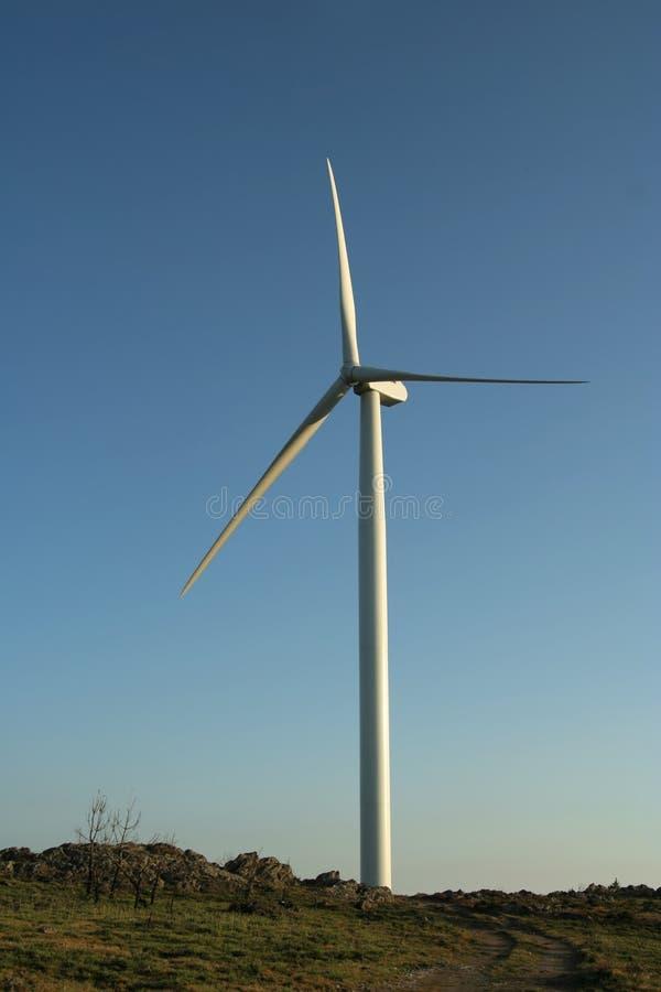 Windmolen stock afbeelding