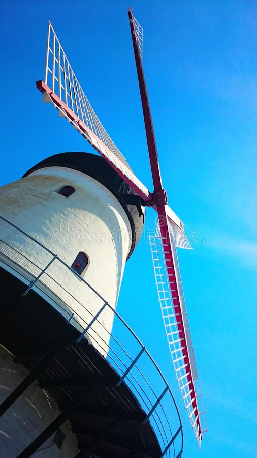 Windmolen royalty-vrije stock fotografie