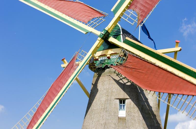 windmolen, Ooievaarsdorp, Nederland stock foto's