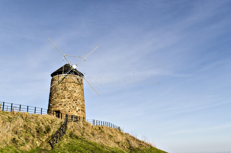 Windmolen St Monens Fife stock fotografie