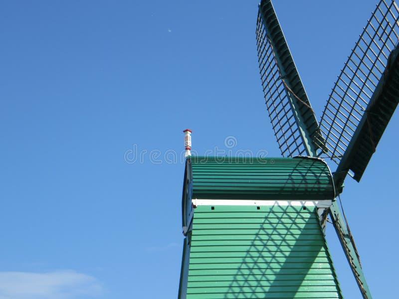 Windmolendetail royalty-vrije stock foto's