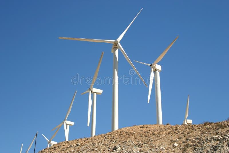 Windmolens stock afbeeldingen