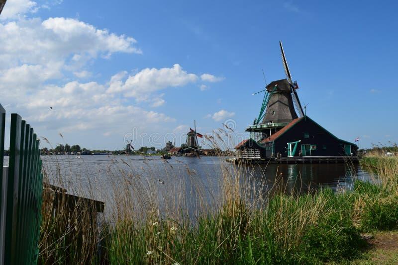 Windmolens, Holland stock foto
