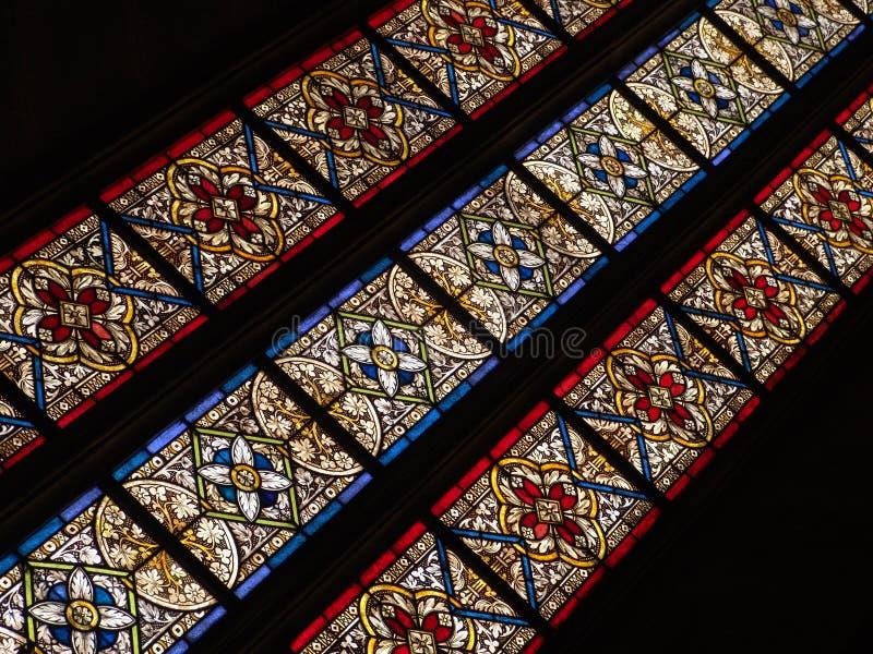Window. Church patern stock images