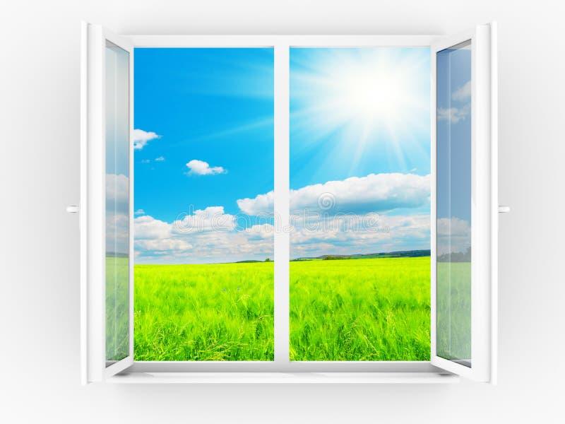 Window stock illustration