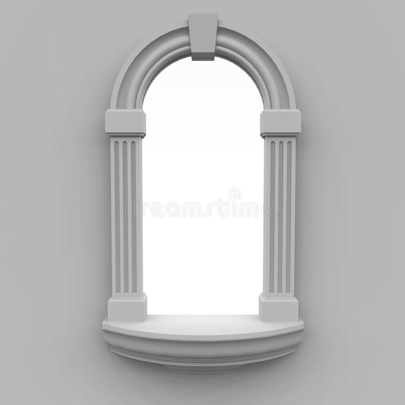 Window stock illustration