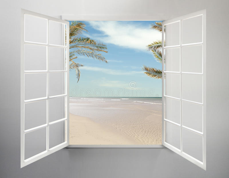 Download Window stock photo. Image of panes, grass, summer, palm - 26134156