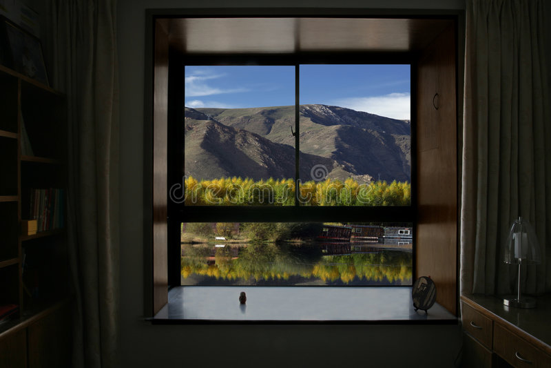 Download Window stock image. Image of room, fall, lamp, window - 7305939