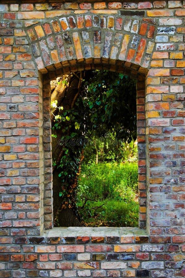 Download Window stock image. Image of outdoors, ruin, brick, window - 9385627