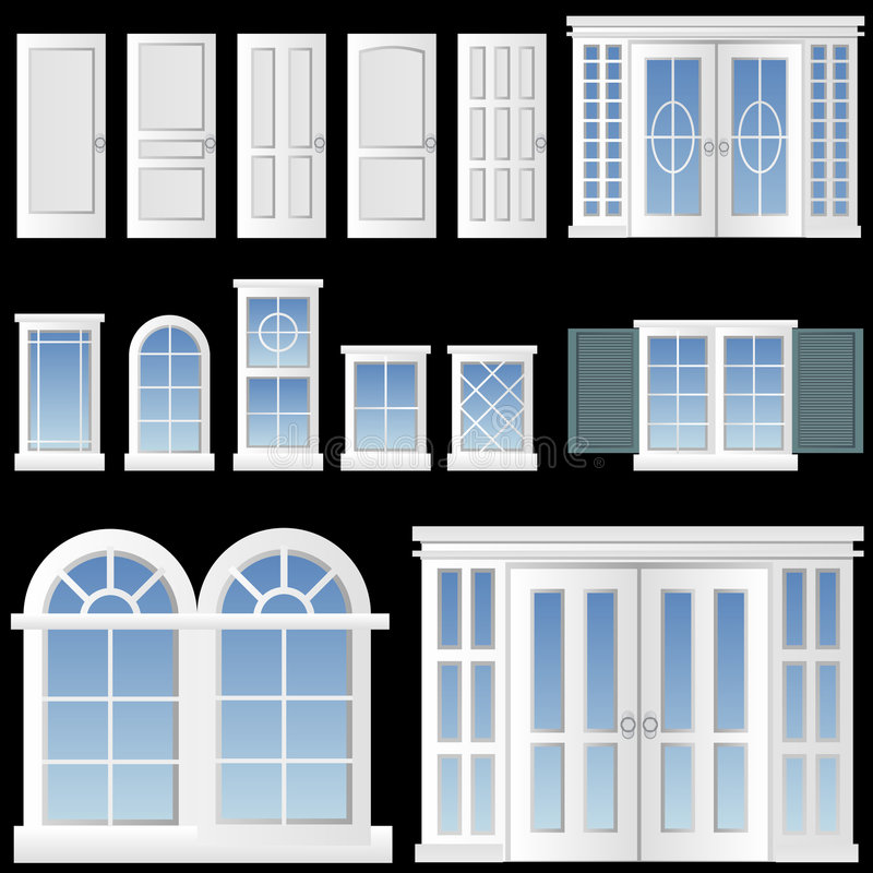 Free Window And Door Vector Stock Photos - 6372043