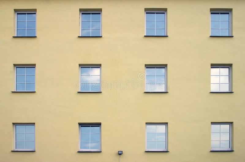 Window array stock image