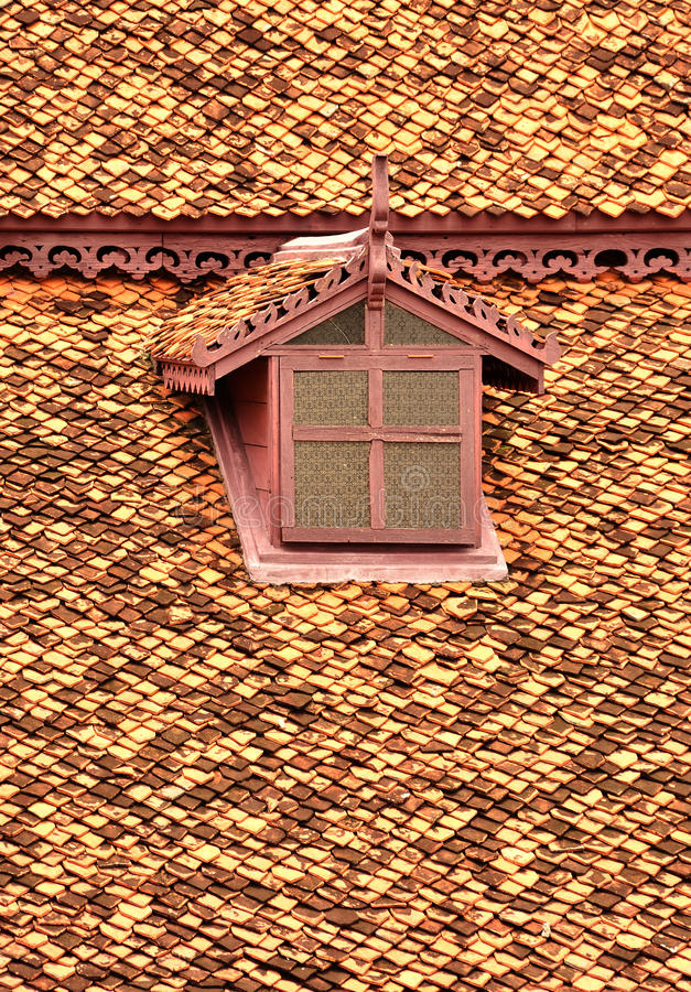 Window of attict. With Thai Style stock photography