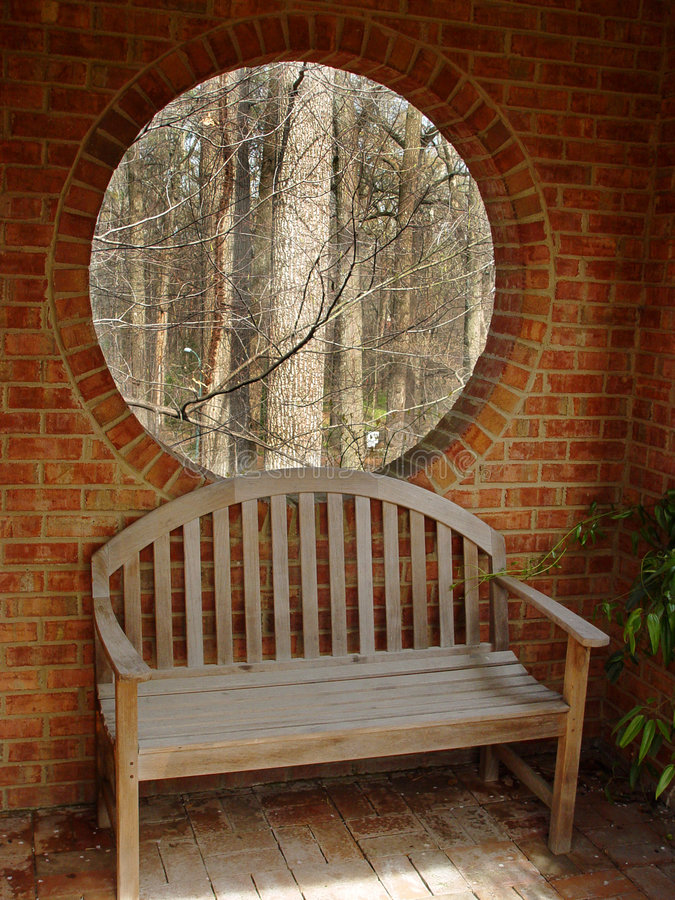 Download Window and bench stock photo. Image of bench, brick, window - 644020