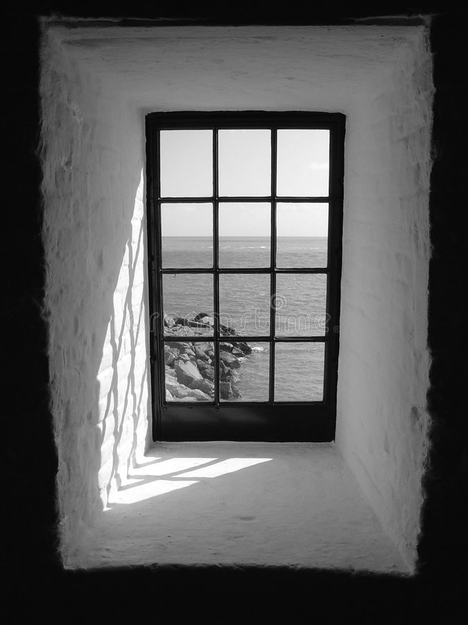 Window Black And White Stock Photo Image Of Shadow